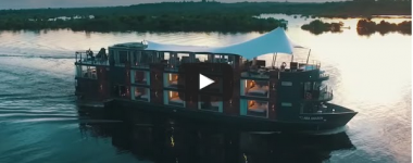 Discover the Amazon from the air : Drone video by Aqua Expeditions